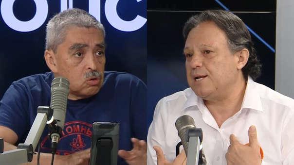 Farid Matuk y Carlos Mesía