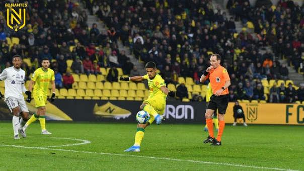 Nantes venció 2-1 a Toulouse por la Ligue 1