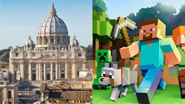 El Vaticano en Minecraft