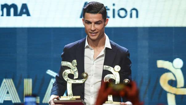 Cristiano Ronaldo premiado como mejor jugador de la Serie A 2018-2019
