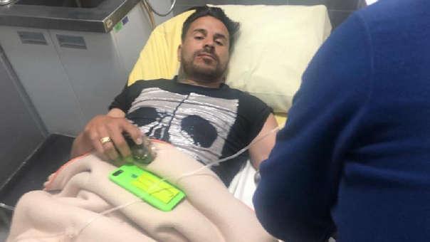 Juan Pablo Vergara manejaba el vehículo en el que se accidentaron.