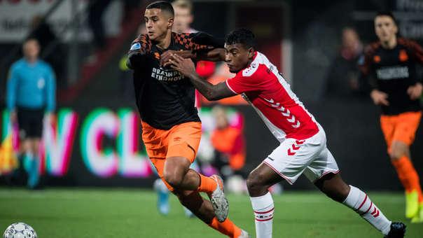 Miguel Araujo debutó oficialmente con el FC Emmen por la liga holandesa