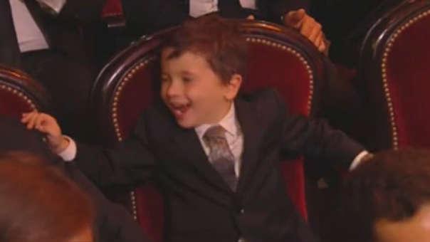 ¿Si tu papá gana su sexto Balón de Oro, cómo lo celebrarías? Mira a Mateo Messi