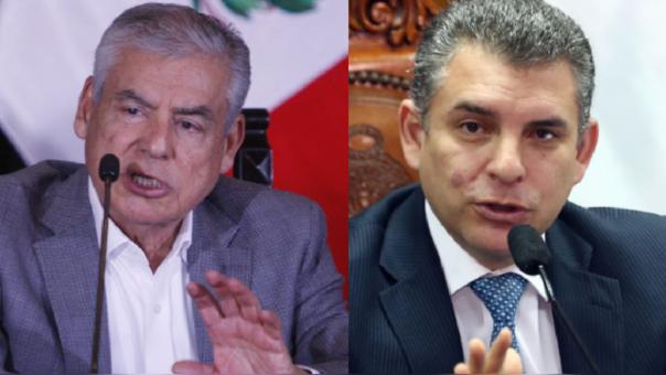 César Villanueva y Rafael Vela