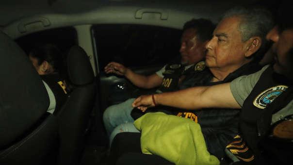 César Villanueva fue detenido el pasado martes en el distrito limeño de Los Olivos.