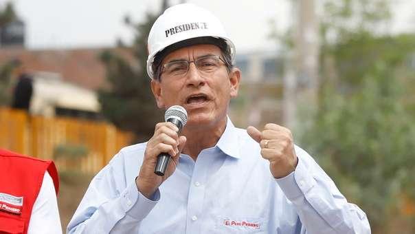 El presidente Vizcarra declaró luego de supervisar el funcionamiento del hospital de Jaén.