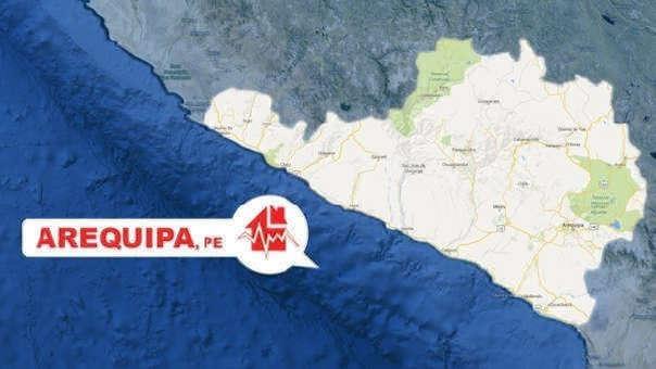 De acuerdo con el Instituto Geofísico del Perú, el movimiento se registró a las 02:16:51.