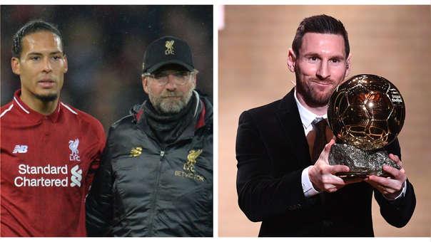 Jurgen Klopp sobre el Balón de Oro de Messi: