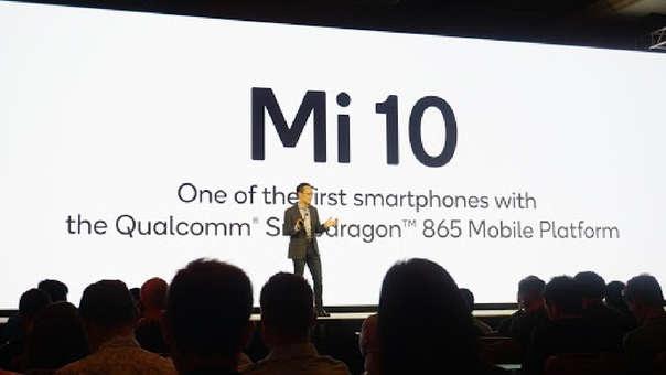 Lin Bin anunció lo nuevo de Qualcomm.