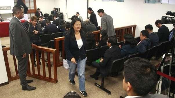 TC ordenó la liberación de Keiko Fujimori.