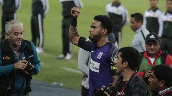 Pedro Gallese celebra la clasificación a la final del play off de la Liga 1