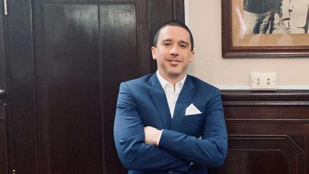Mijael Garrido Lecca es candidato al Congreso por el APRA.