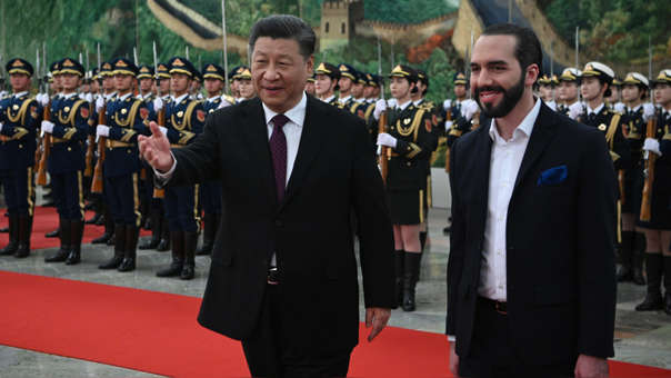 CHINA-EL SALVADOR-DIPLOMACY