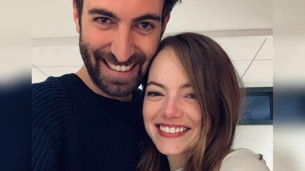 ¡Emma Stone se casa! La actriz se comprometió con el guionista de
