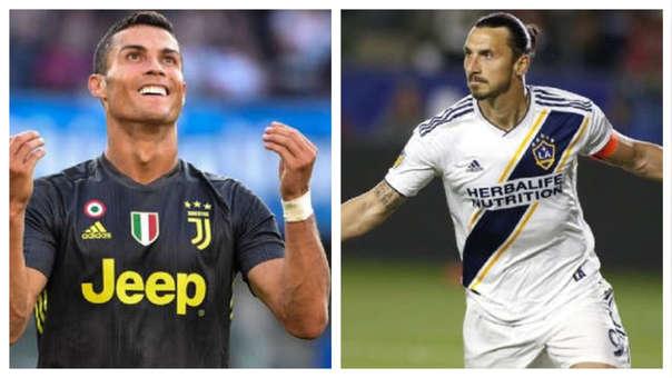 Cristiano Ronaldo  y Zlatan Ibrahimovic se volverán a encontrar en Italia