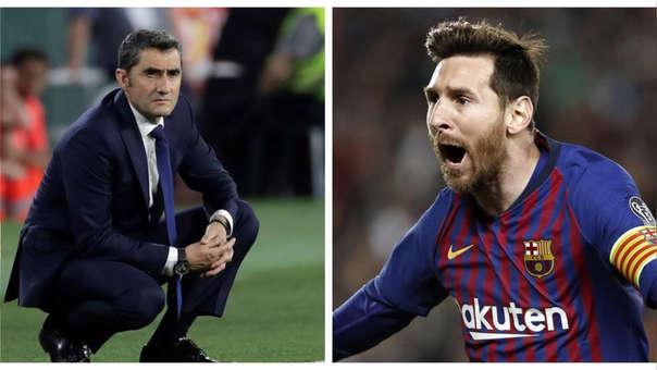 Dejó claro todo: Ernesto Valverde se refirió al retiro de Lionel Messi
