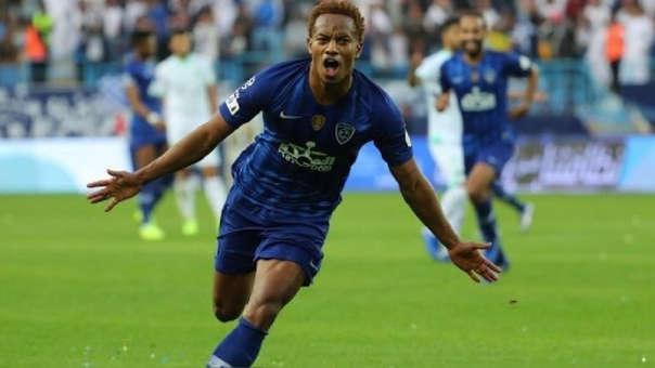 André Carrillo anotó golazo con el Al-Hilal por la Copa del Rey de Campeones