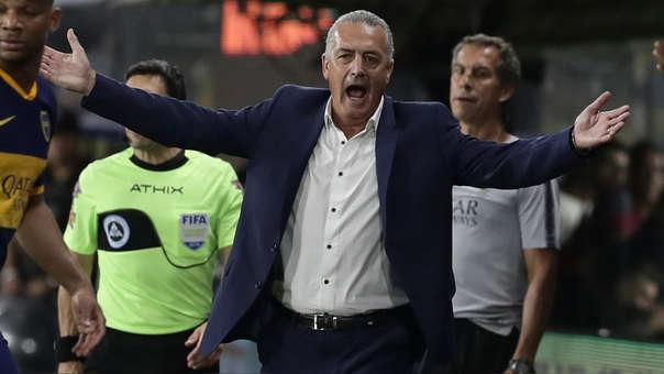 Gustavo Alfaro anunció su salida de Boca Juniors: