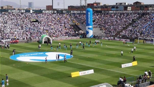 Alianza Lima jugará a estadio lleno ante Binacional en Matute