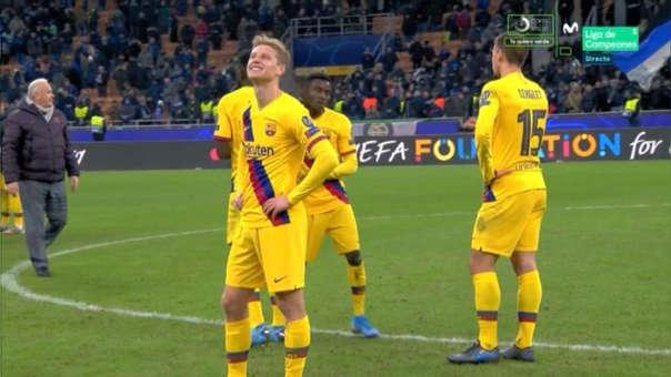 Barcelona ganó, pero su Ajax quedó eliminado: el sufrimiento de Frenkie de Jong