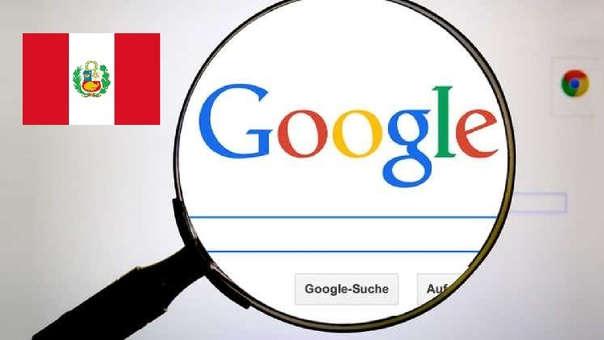 Google búsquedas Perú
