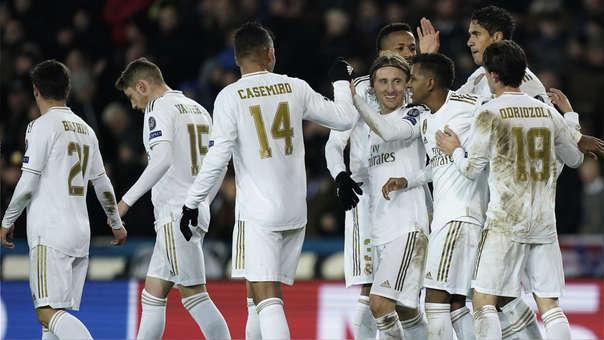 Real Madrid vs. Brujas