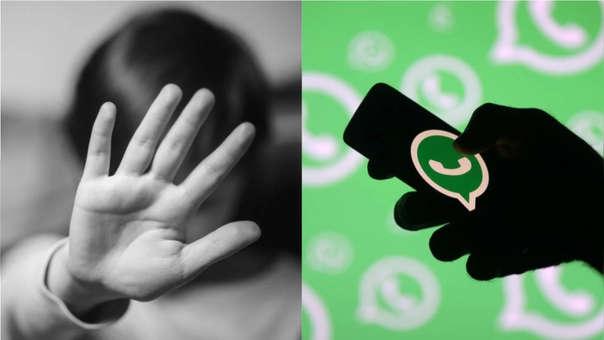 WhatsApp pornografía infantil