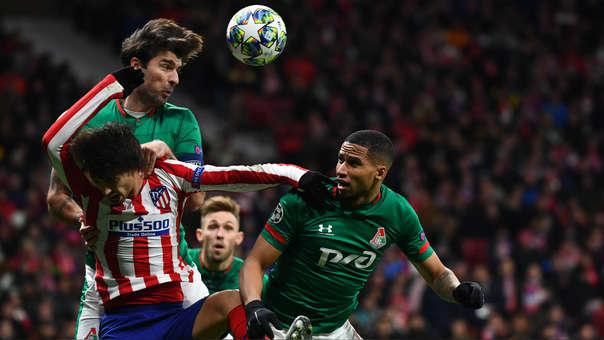 Atlético de Madrid vs. Lokomotiv Moscú