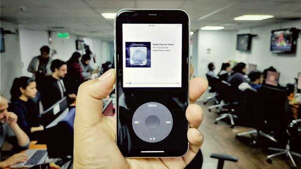 Así luce un iPhone 11 con esta app que lo convierte en un iPod