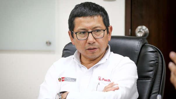 Edmer Trujillo, ministro de Transportes.
