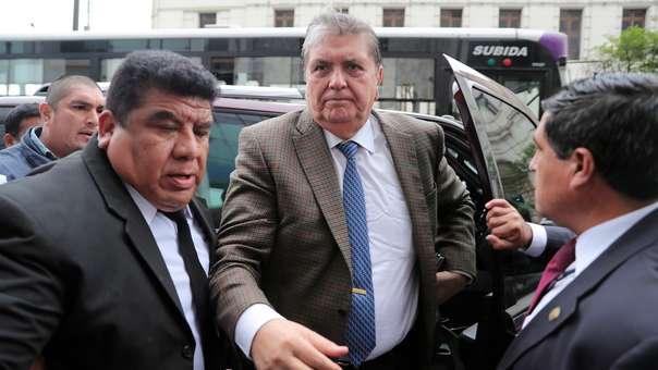 Alan García fue investigado por los presuntos delitos de homicidio calificado y otros.