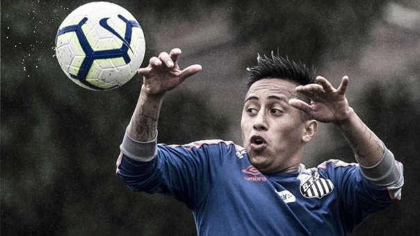 Lo dijo todo: Christian Cueva se refirió a su futuro futbolístico en Santos