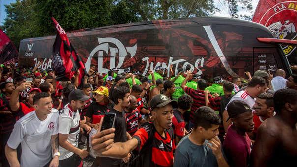 Con todo el aliento: Así partió Flamengo de Brasil rumbo al Mundial de Clubes
