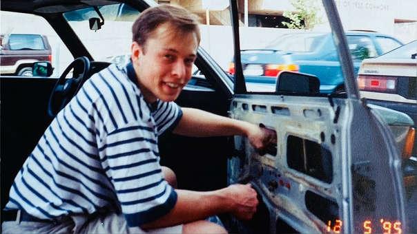 La foto compartida por la mamá de Elon Musk.
