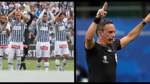 Alianza Lima presentó nuevo reclamo a la FPF ante la designación del árbitro Patricio Loustau