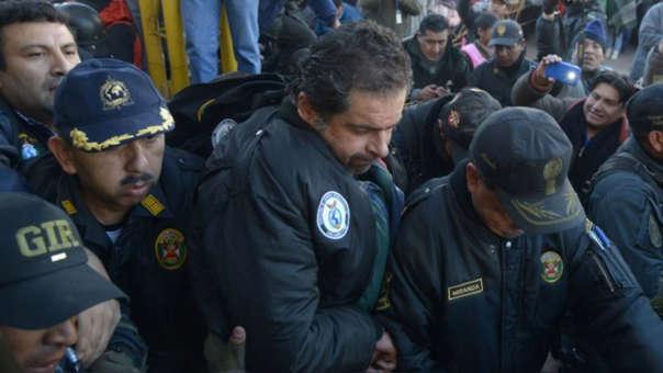 Martín Belaunde Lossio dejó en penal Piedras Gordas.