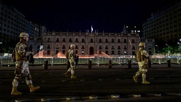 Soldados chilenos