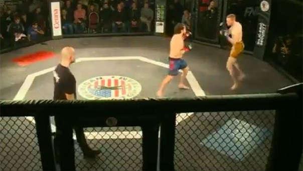 Gana una pelea de MMA en nueve segundos y sin tocar a su rival: ¿Cómo lo hizo?