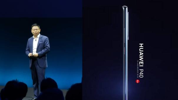 Richard Yu, CEO de Huawei CBG, ha deslizado detalles del nuevo P40
