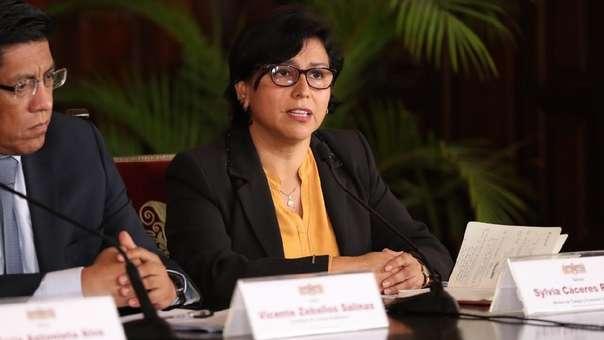La ministra de Trabajo, Sylvia Cáceres, se pronunció sobre el caso de los jóvenes fallecidos.