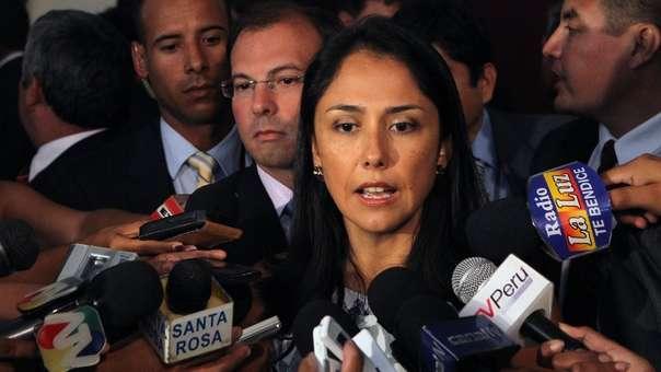 Nadine Heredia es investigada por el caso Odebrecht.