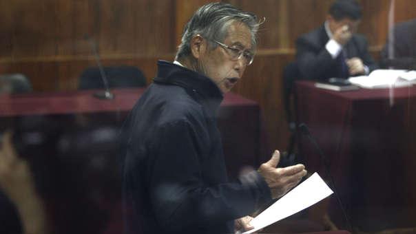 Alberto Fujimori permanece preso en el penal de la Diroes.