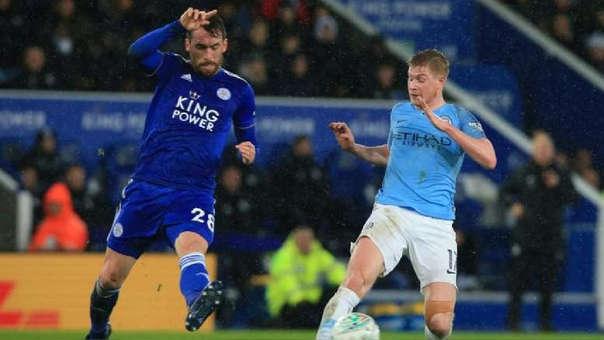 Manchester City vs. Leicester City EN VIVO: partido por la fecha 18 de la Premier League