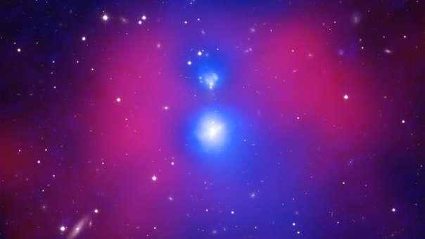 NASA Colisión de galaxias