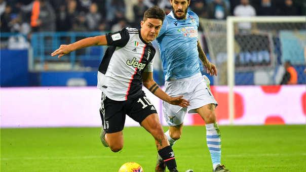 tras remate de Cristiano Ronaldo, Paulo Dybala marcó gol del empate en el Juventus vs. Lazio