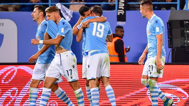 Lazio se coronó campeón de la Supercopa de Italia al vencer 3-1 a Juventus