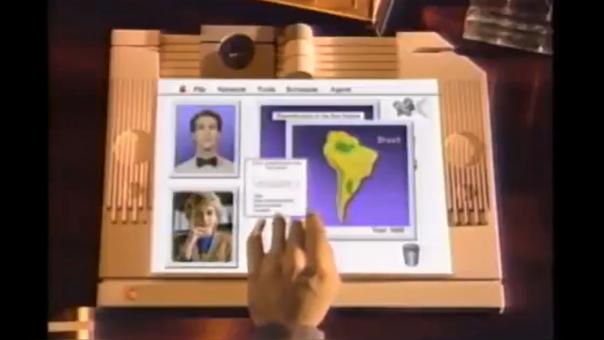 Un video concepto de 1987 nos muestra el primer acercamiento a las tablets de Apple