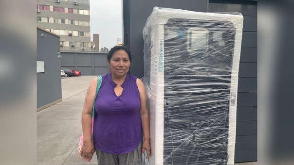 Lourdes Figueroa fue una de las ganadoras del concurso Desarrollo Infantil Temprano.