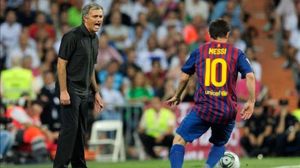 Mourinho se deleita ante Lionel Messi: