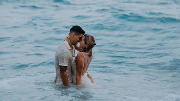 Neymar fue el primer invitado en llegar al matrimonio de Luis Suárez en Uruguay